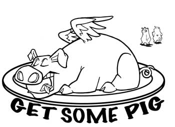 Three Little Pigs Bar-B-Q